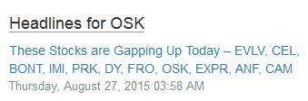 osk headlines